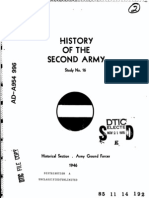 WWII 2nd Army History