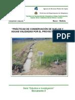 Prácticas De Conservación De Suelos Y Aguas Validadas Por El Proyecto Jalda