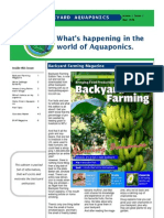 June 2010 Backyard Aquaponics Newsletter