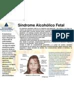 Síndrome Alcohólico Fetal