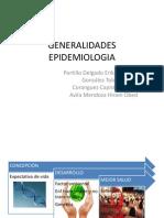 GENERALIDADES EPIDEMIOLOGIA