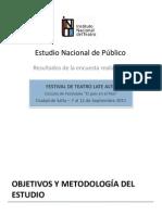 Estudio Nacional de Público