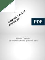 genesis y aulas virtuales