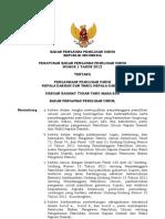 Peraturan Badan Pengawas Pemilihan Umum Nomor 1 Tahun 2012