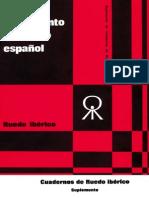 Movimiento Libertario español 1974 suplemento Cuadernos R. I