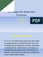 Tecnologia Dos Materiais e Processos