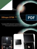 3Shape D700 ™