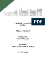 Trabajo Ecologia - Prof Pagano