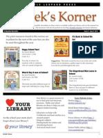 Kordek's Korner August 2012