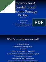 Successful Local Economics