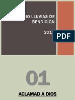 CORARIO LLUVIAS DE BENDICIÓN