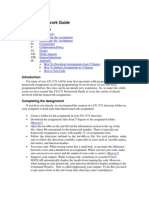CS 1371 Homework Guide
