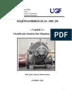 Capítulo 2 - Classificação Sumária das Máquinas Hidráulicas
