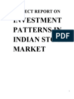 47677313 Stock Market Trends and Investment Pattern