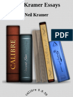 Neil Kramer Essays - Neil Kramer