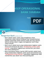Memahami Operasional Bank Syariah