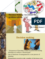 Decision Making Syllabi