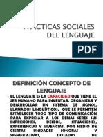 Practicas Sociales Del Lenguaje 1