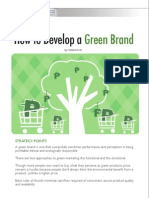 How to Green Your Brand by Ms. Victoria Fritz