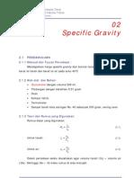 02 Specific Gravity