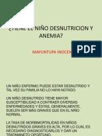 Desnutricion y Anemia