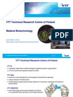 VTT Medical Biotechnology Overview