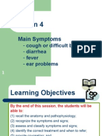 IMCI SEssion 4 - Main Symptoms
