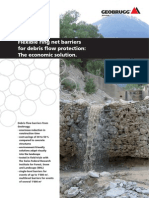 Geobrugg-Flexible Ring Net Barriers for Debris Flow Protection-The Economic Solution