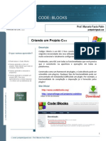 Tutorial CodeBlocks Projeto C++ e MPI