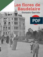 Portada Segunda Edición de Las flores de Baudelaire, de Gonzalo Garrido
