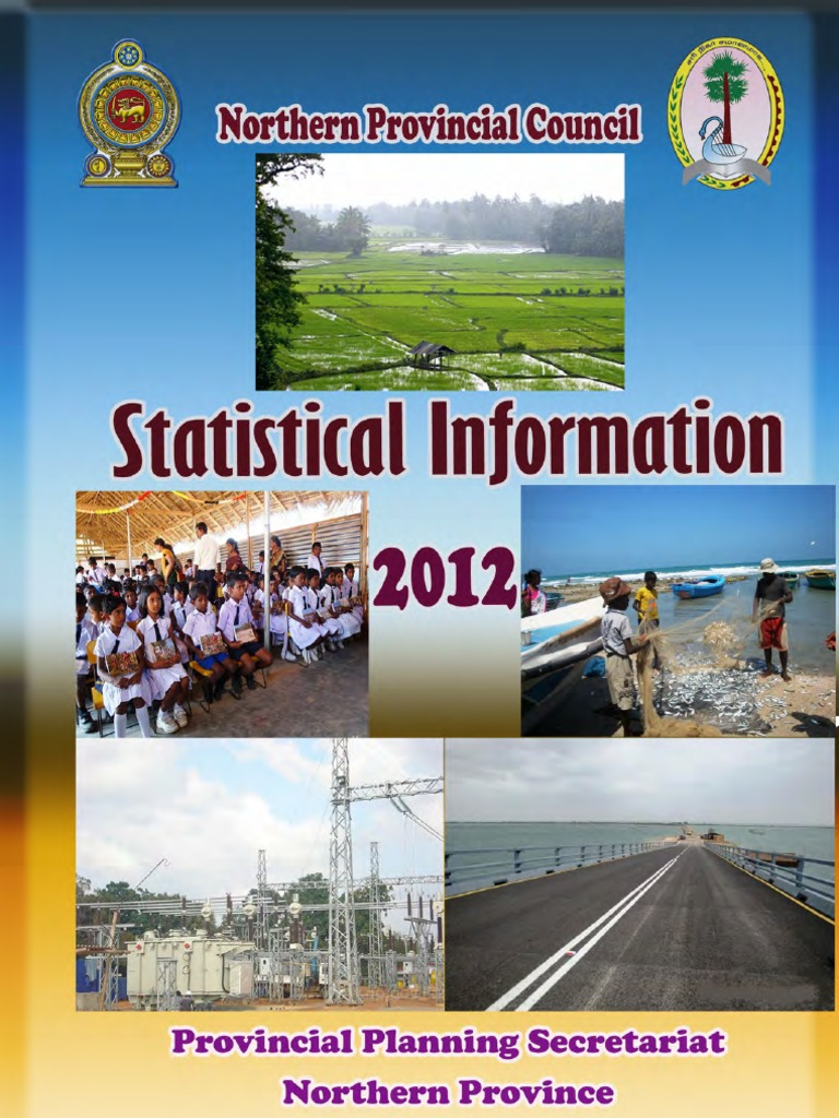 Statistical Information 2012 - Northern Province | Agriculture | Soil