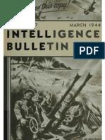 Intelligence Bulletin ~ Mar 1944