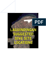 Laguindingan Suggested Dive Sites
