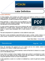 Scalar Definition