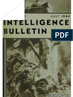 Intelligence Bulletin ~ Jul 1944