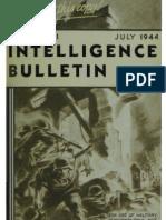 Intelligence Bulletin ~ Jul 1944