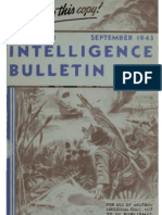 Intelligence Bulletin ~ Sep 1943