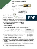 display macbook on activboard  -1