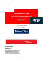 TMDXEVM6670L Technical Reference Manual 1V00