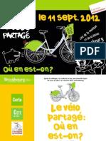Colloque du vélo partagé