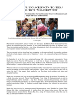 The Detention of Boeung Kak Lake Women