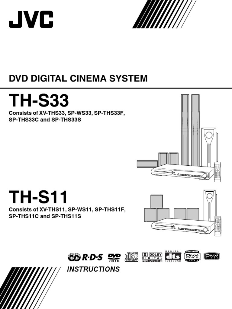 Th S11 Ss3 Dvd Jvc Manual Compact Disc Information Storage Digital Media Receiver Wiring Diagram