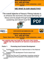 Kenya Film Industry 2012 and Beyond Bfma 2012