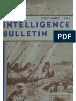 Intelligence Bulletin ~ Nov 1943
