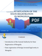General Authority of State Registration Description