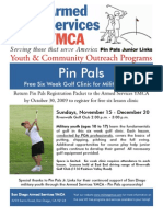 Fall 2009 ASYMCA Flyer