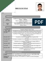 Curriculum Vitae Med Anis Selmane
