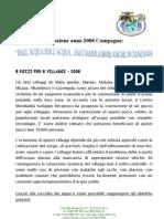 Relazione Tappi 2008