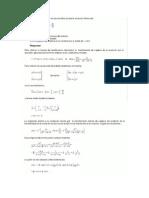 Un sistema descrito por la ecuación diferencial