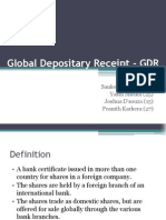 Global Depositary Receipt - GDR